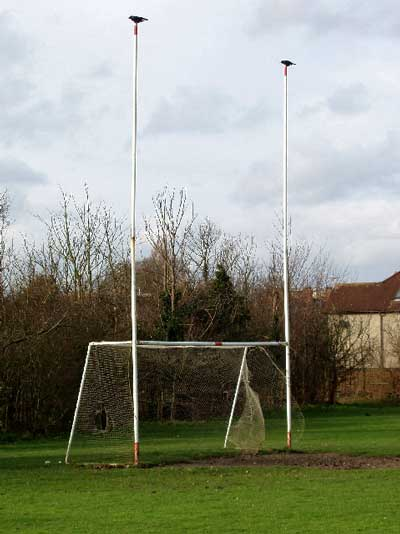 Gaelic football goalposts