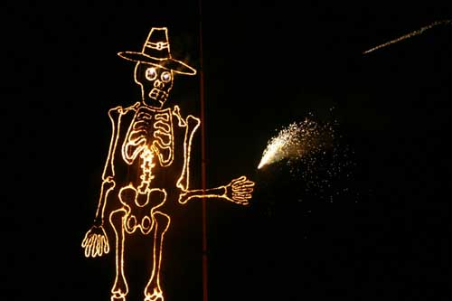Guy Fawkes Skeleton