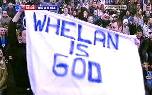 Whelan is God
