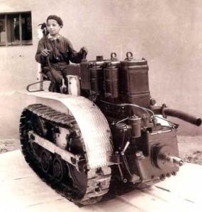 Ipswich Tractor Boy