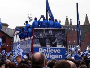 Wigan Athletic FA Cup parade