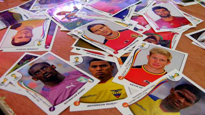 2014 Panini World Cup stickers