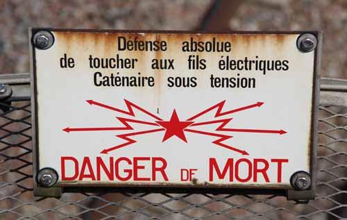 Danger mort