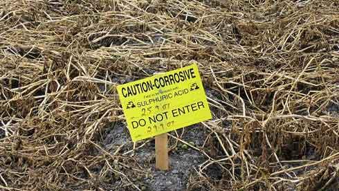 Corrosive DW pitch
