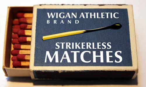 Wigan Athletic strikerless matches