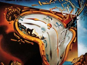 Salvador Dali Melting Clock