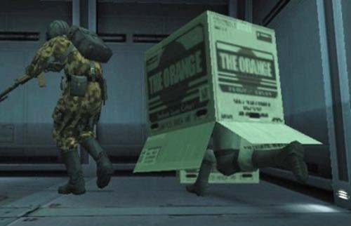 Metal Gear Solid cardboard box