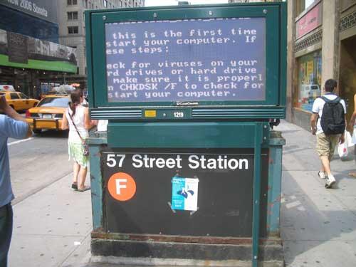 bluescreen subway