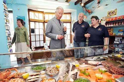 Prince Charles likes fish
