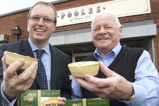 Dave Whelan and pies