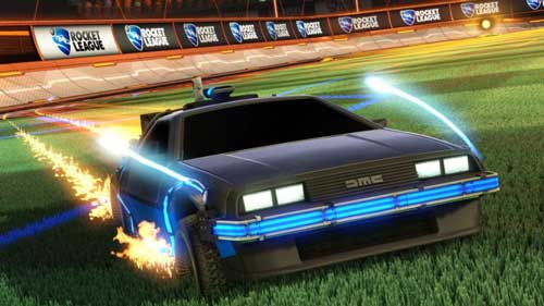 Footballing DeLorean