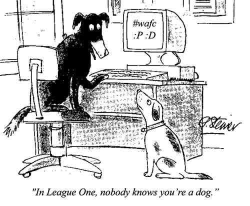 In League One, nobody knows you're a dog