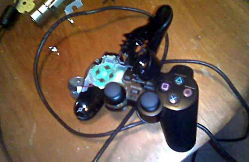 Smashed controller