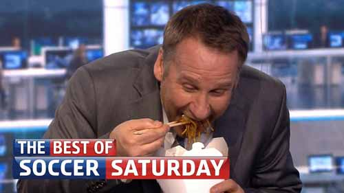 Soccer Saturday takeaway