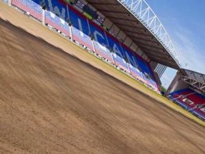 DW sandy pitch