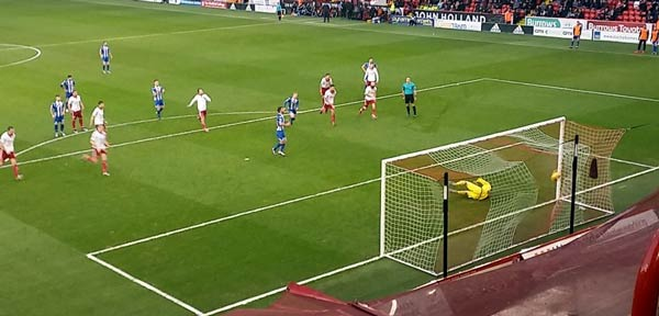 Grigg penalty Sheffield United