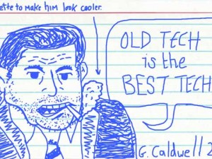 Crap Caldwell drawing