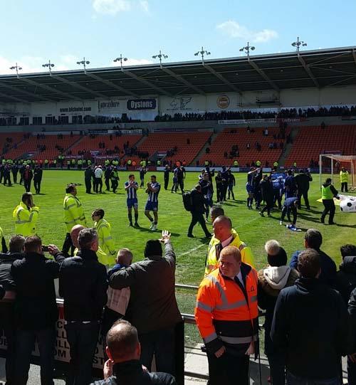 Celebrating Blackpool