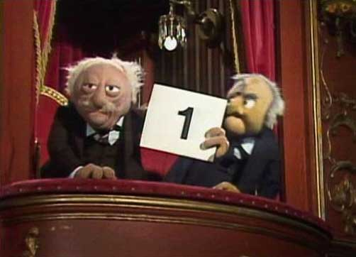 Statler and Waldorf 1