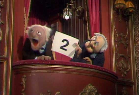 Statler and Waldorf 2