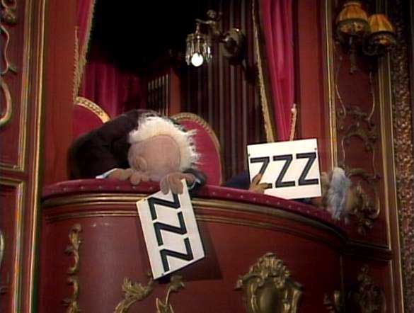 Statler and Waldorf ZZ